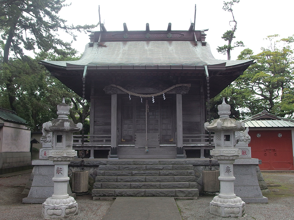 山王神社(小田原市浜町)