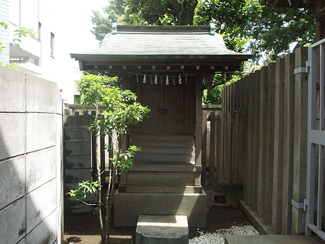 袖ヶ崎神社写真