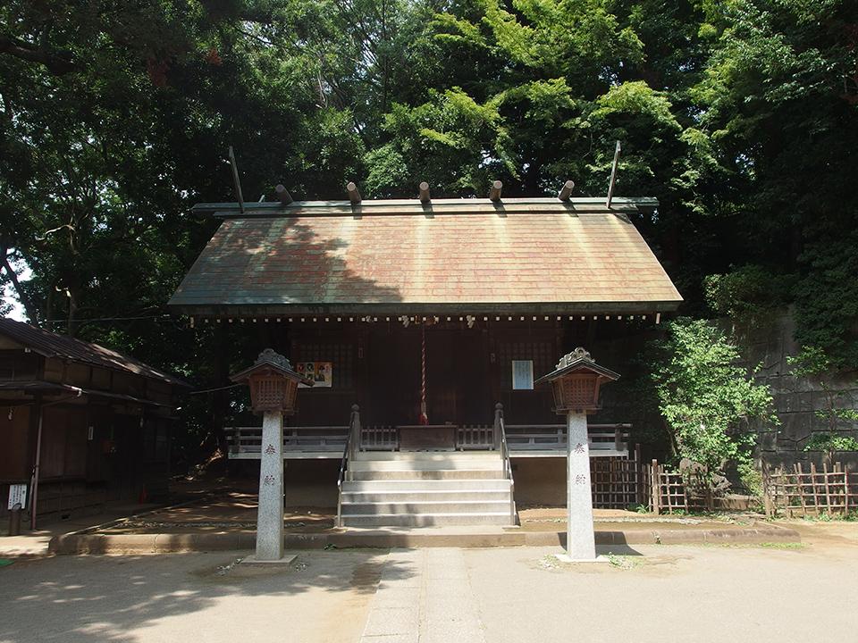 上野毛稲荷神社