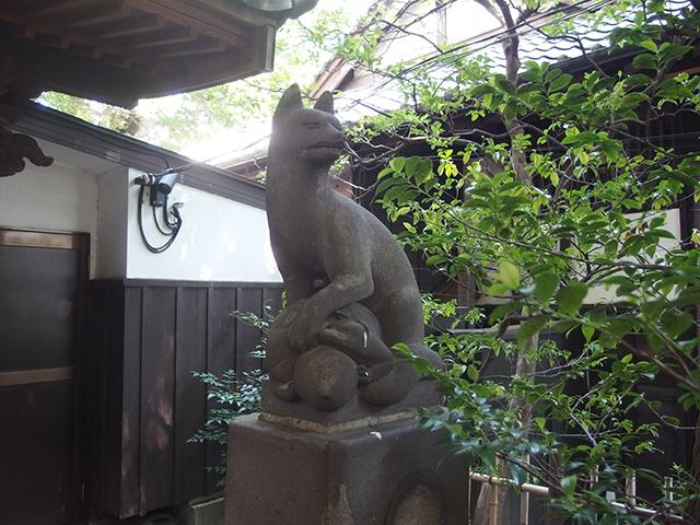 古地老稲荷神社写真