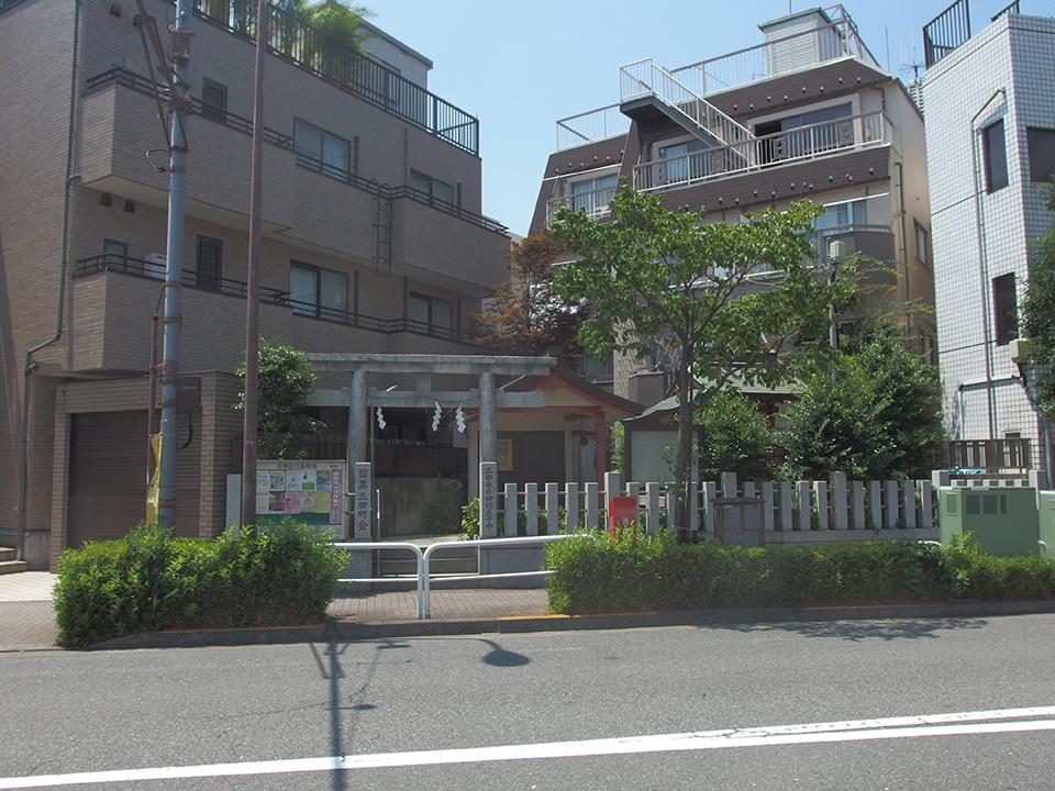 目黒三田春日神社写真