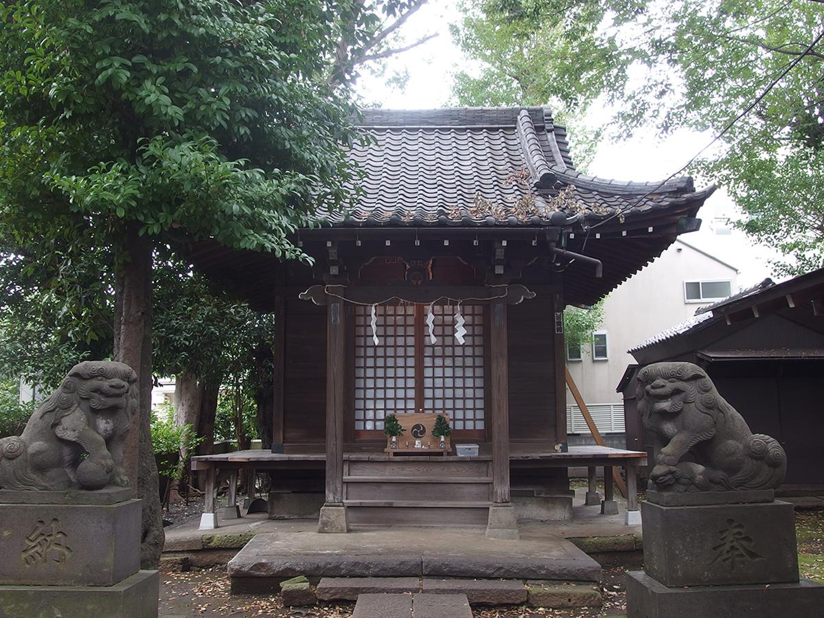 高木神社(目黒区南)