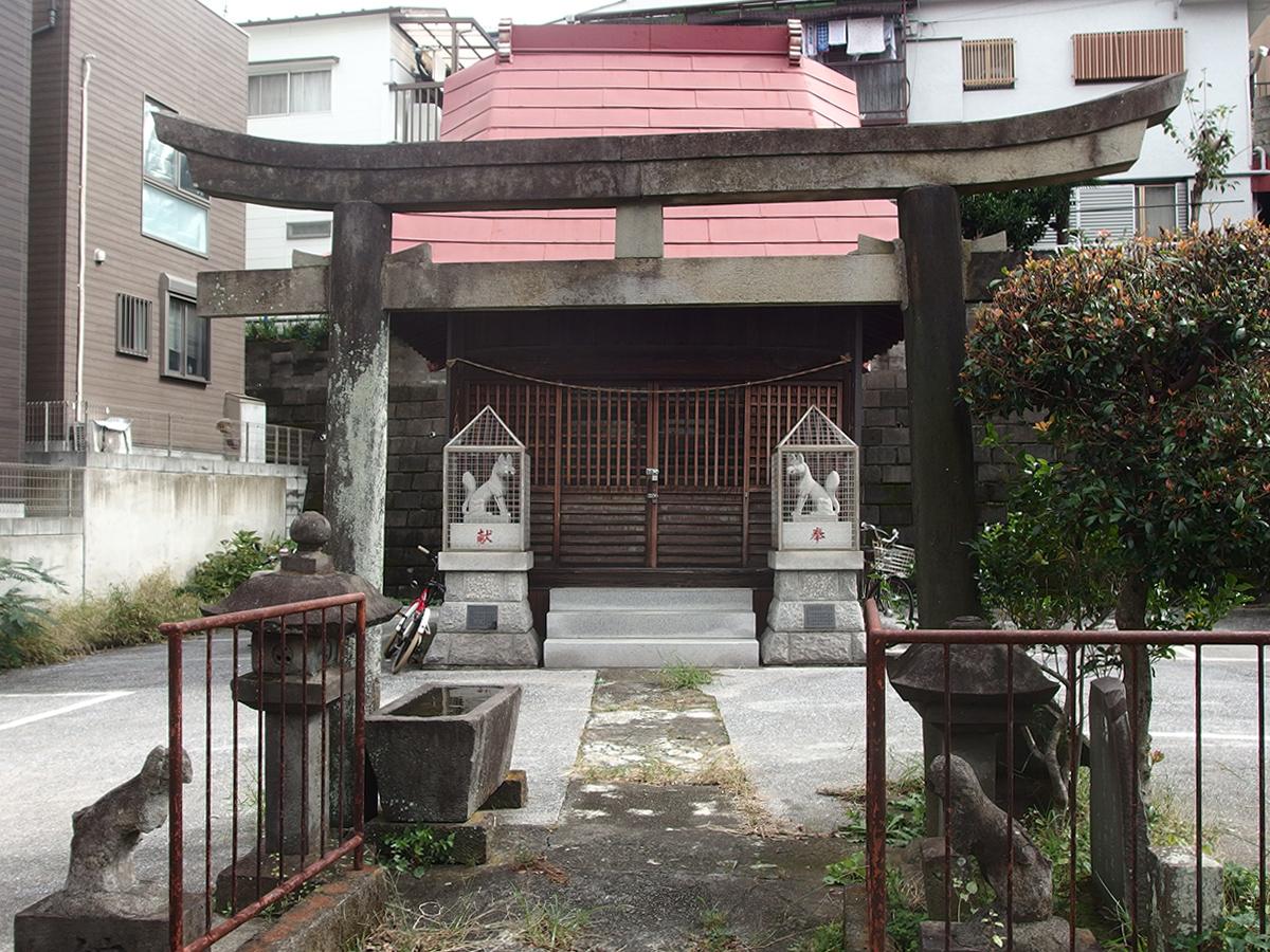 馬場稲荷(横浜市鶴見区馬場)