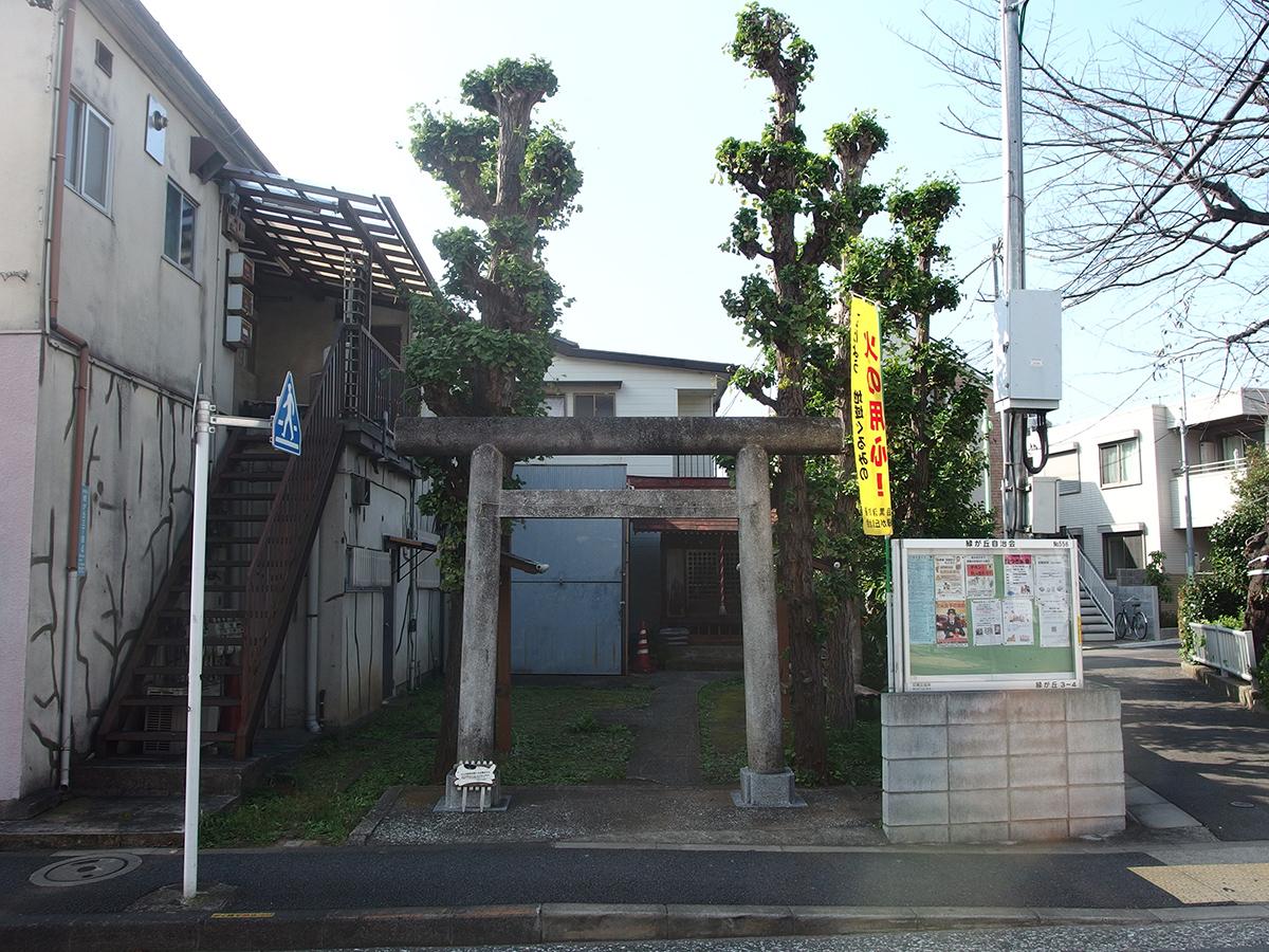 弁天神社(東京都目黒区緑が丘)