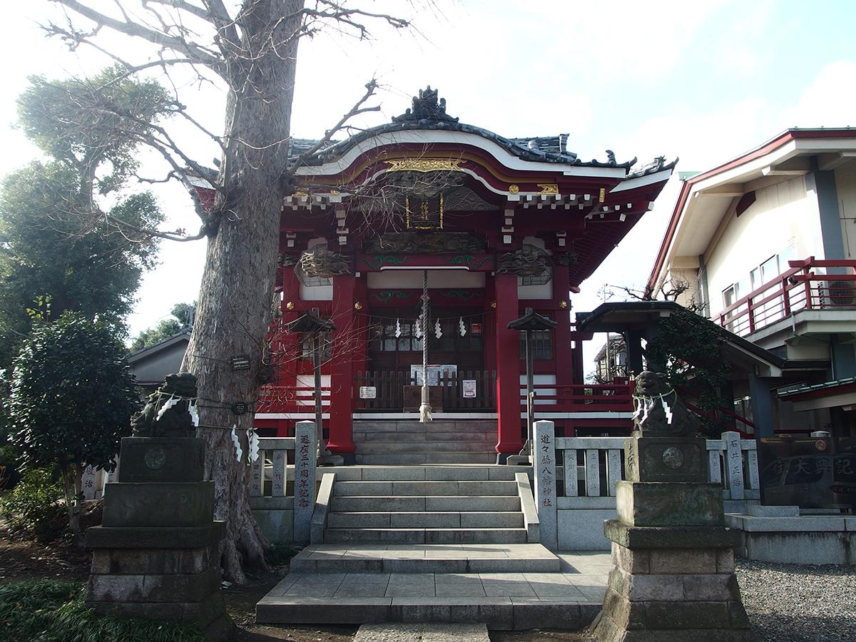 道々橋八幡神社