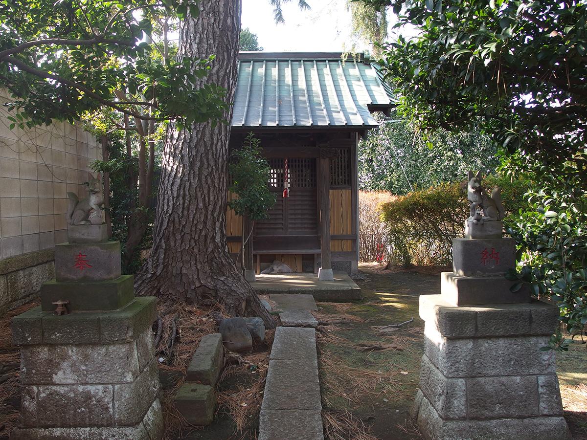 末広稲荷神社(大田区久が原)