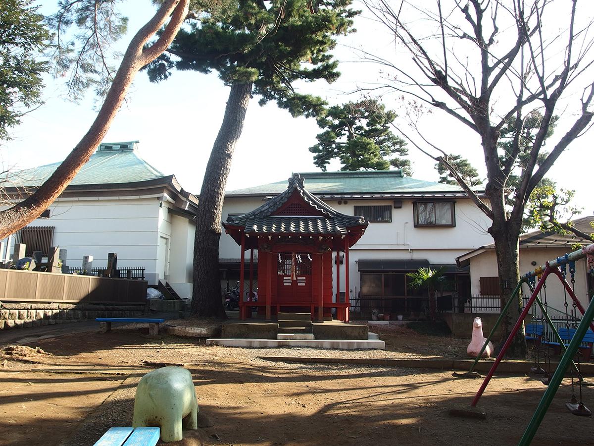 出世稲荷神社(大田区南馬込)