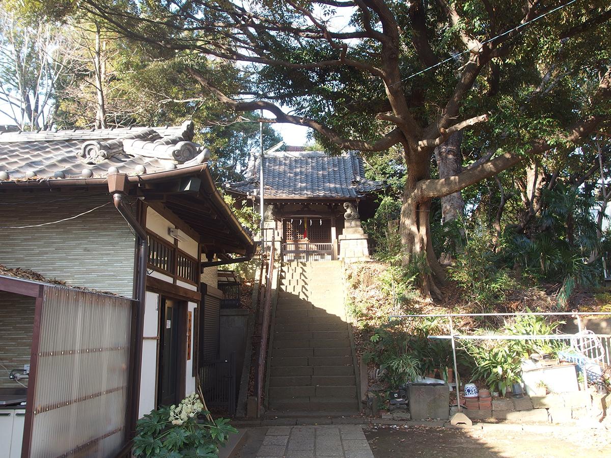 湯殿神社(大田区南馬込)