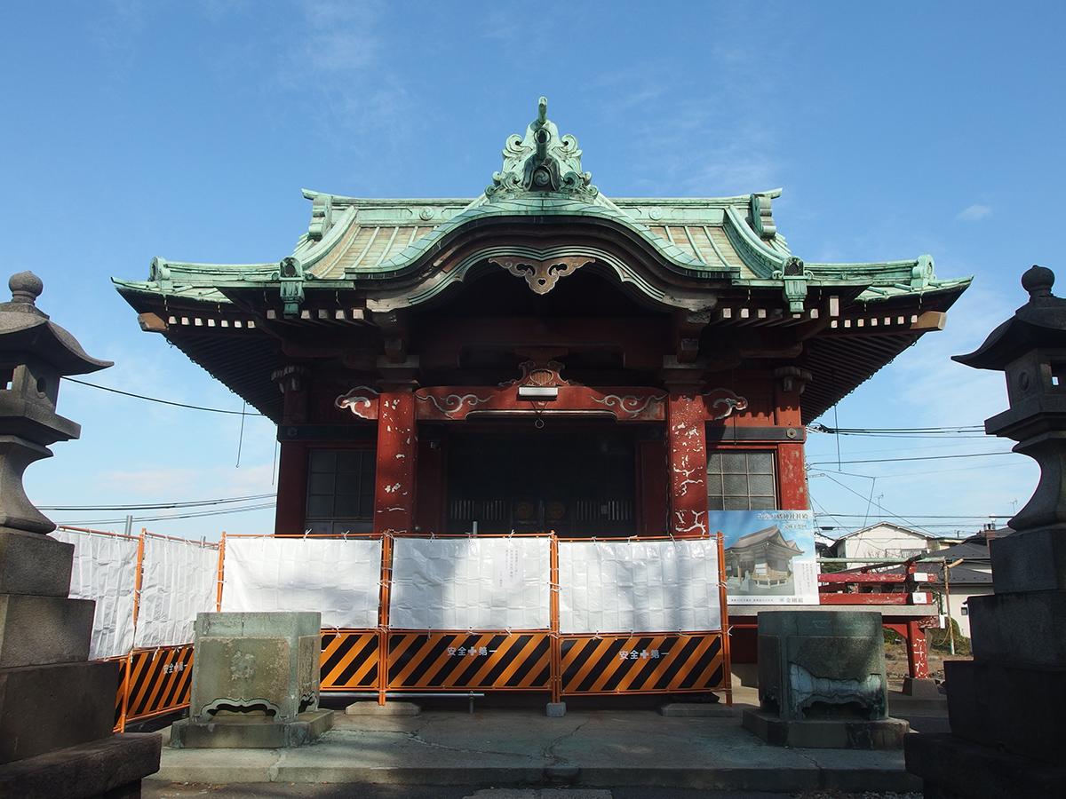 子安八幡神社(仲池上)