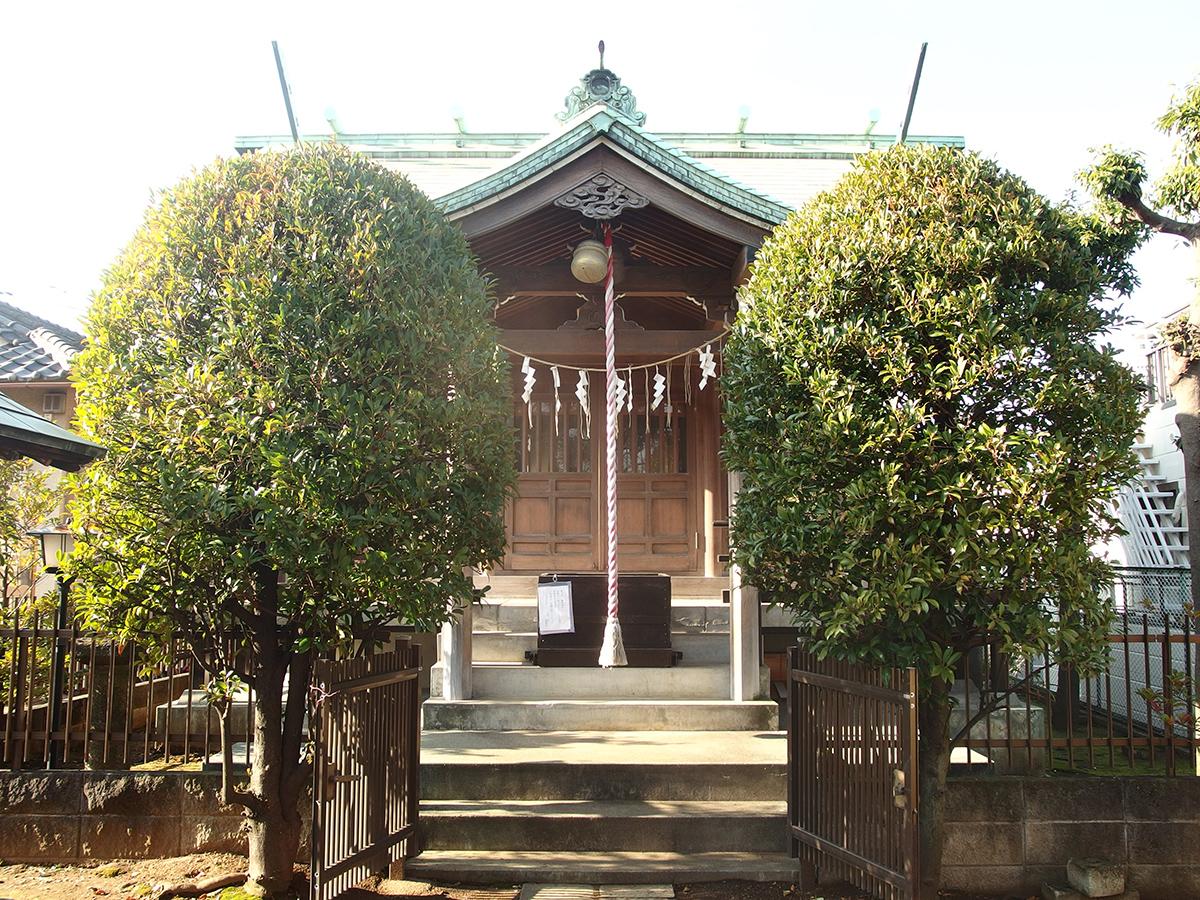 馬込西二稲荷神社