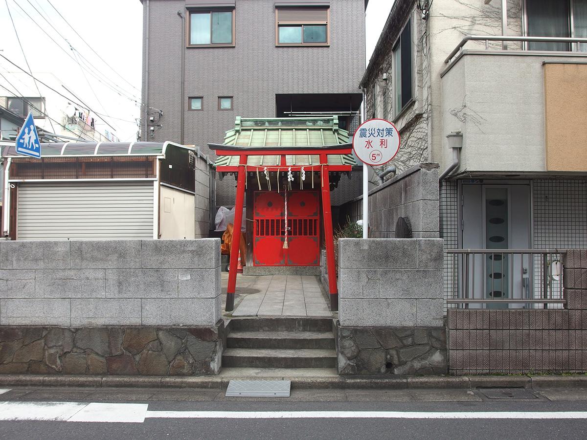 火防稲荷神社(品川区東大井)
