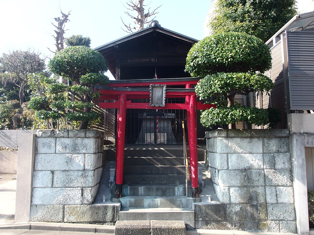 宮ノ下稲荷神社(大田区中馬込)