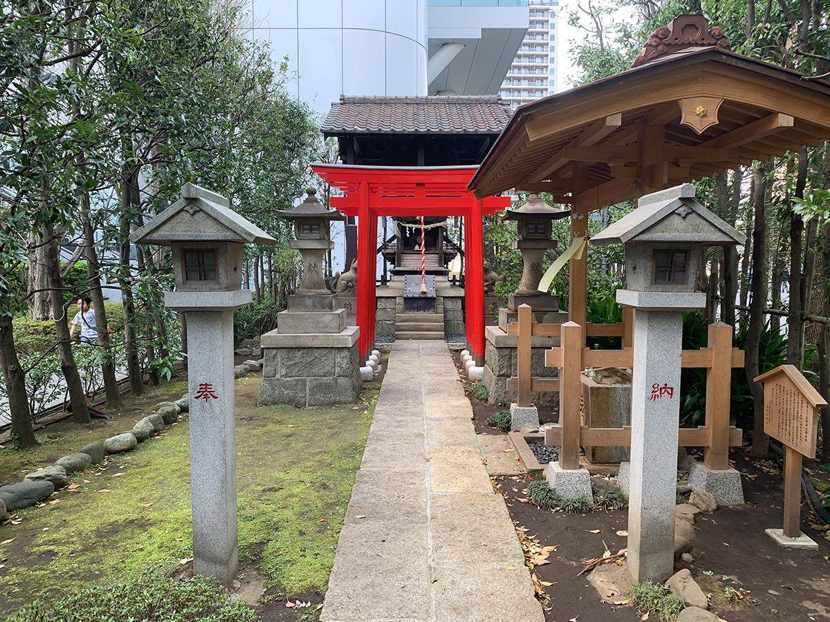 日電玉川稲荷神社