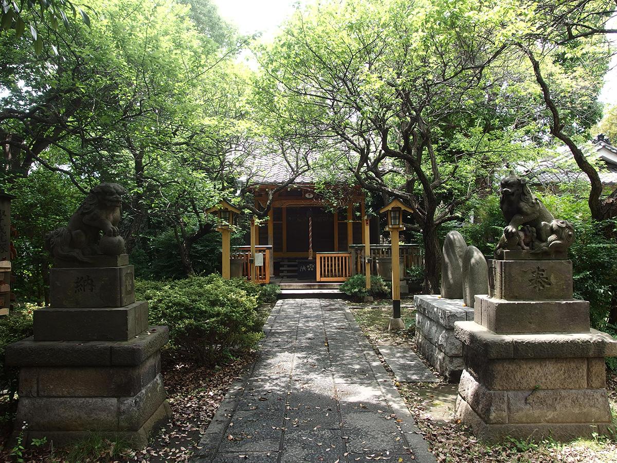 仲六郷北野神社