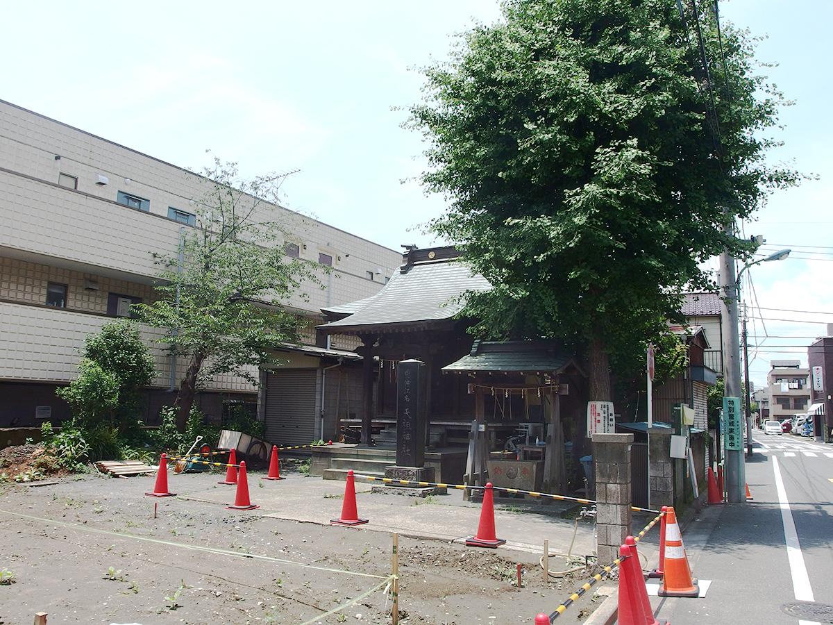 西一仲江名天祖神社