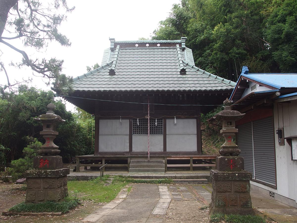 白山神社(横浜市緑区白山)
