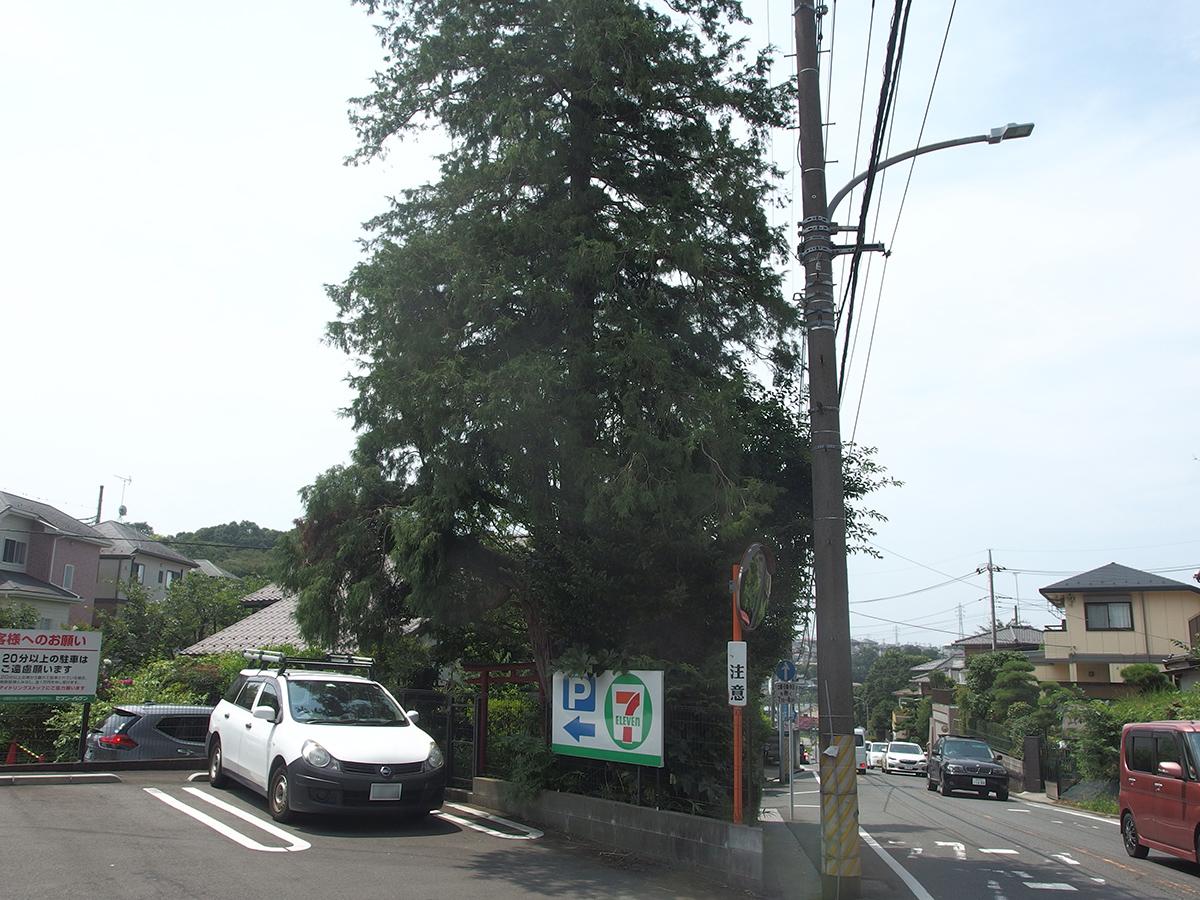 稲荷社(横浜市保土ケ谷区上菅田町576)