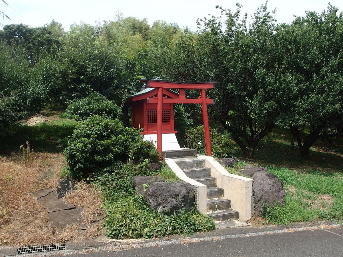 稲荷神社(横浜市緑区鴨居町848付近)