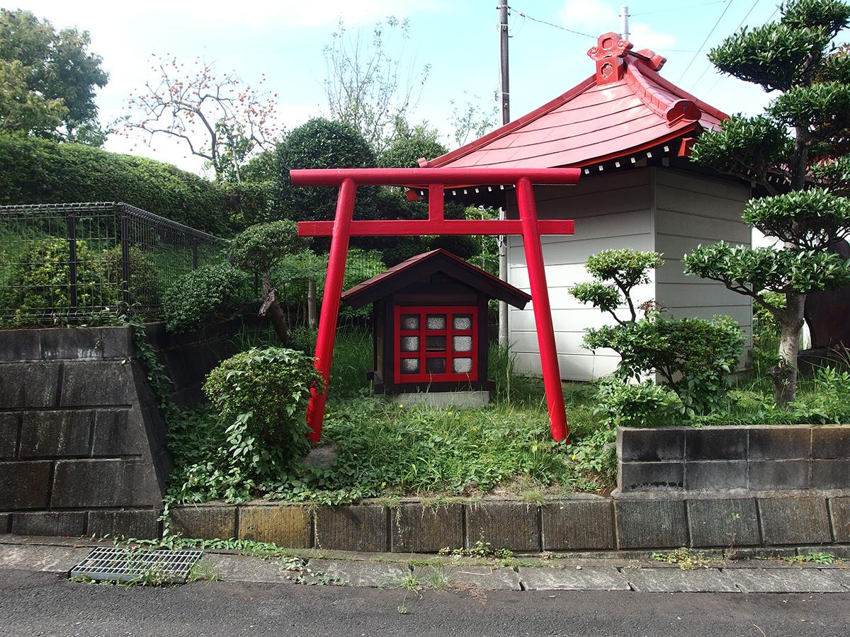 稲荷神社(東京都町田市つくし野2)