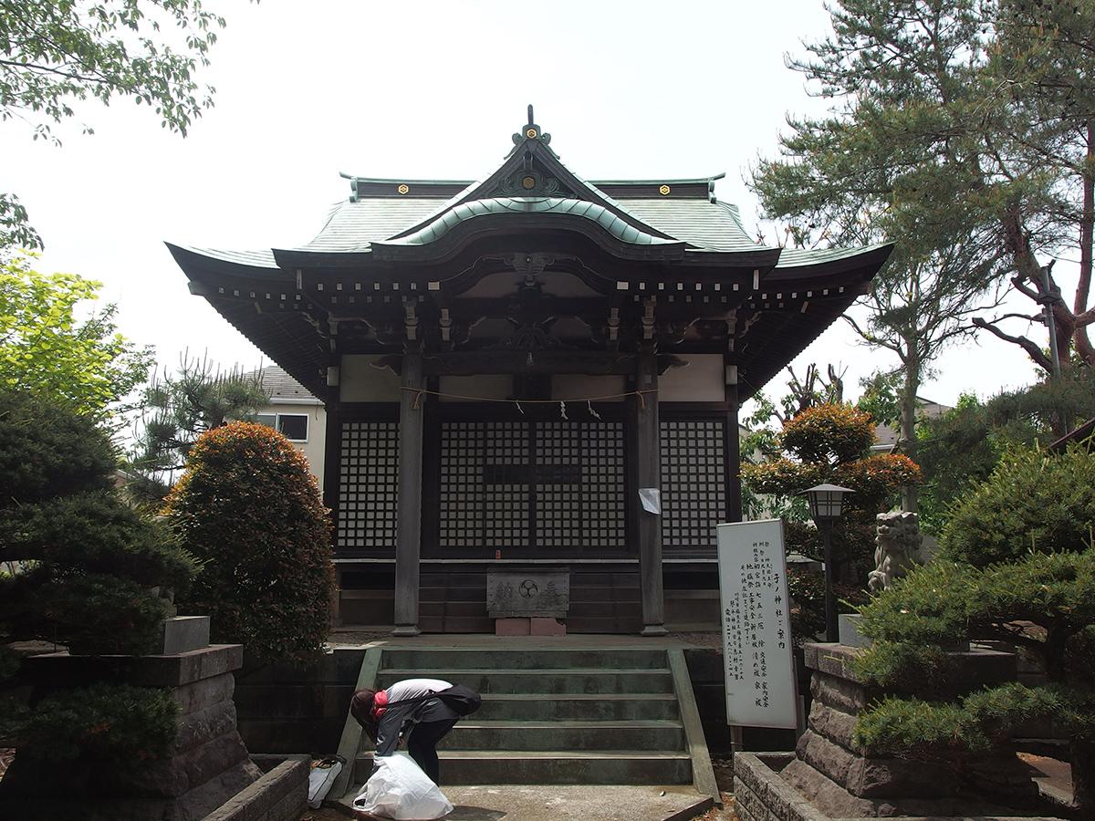 たちばな台子ノ神社