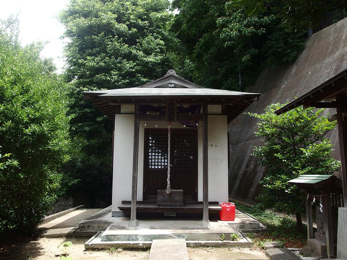 上町白山神社(横浜市磯子区上町)