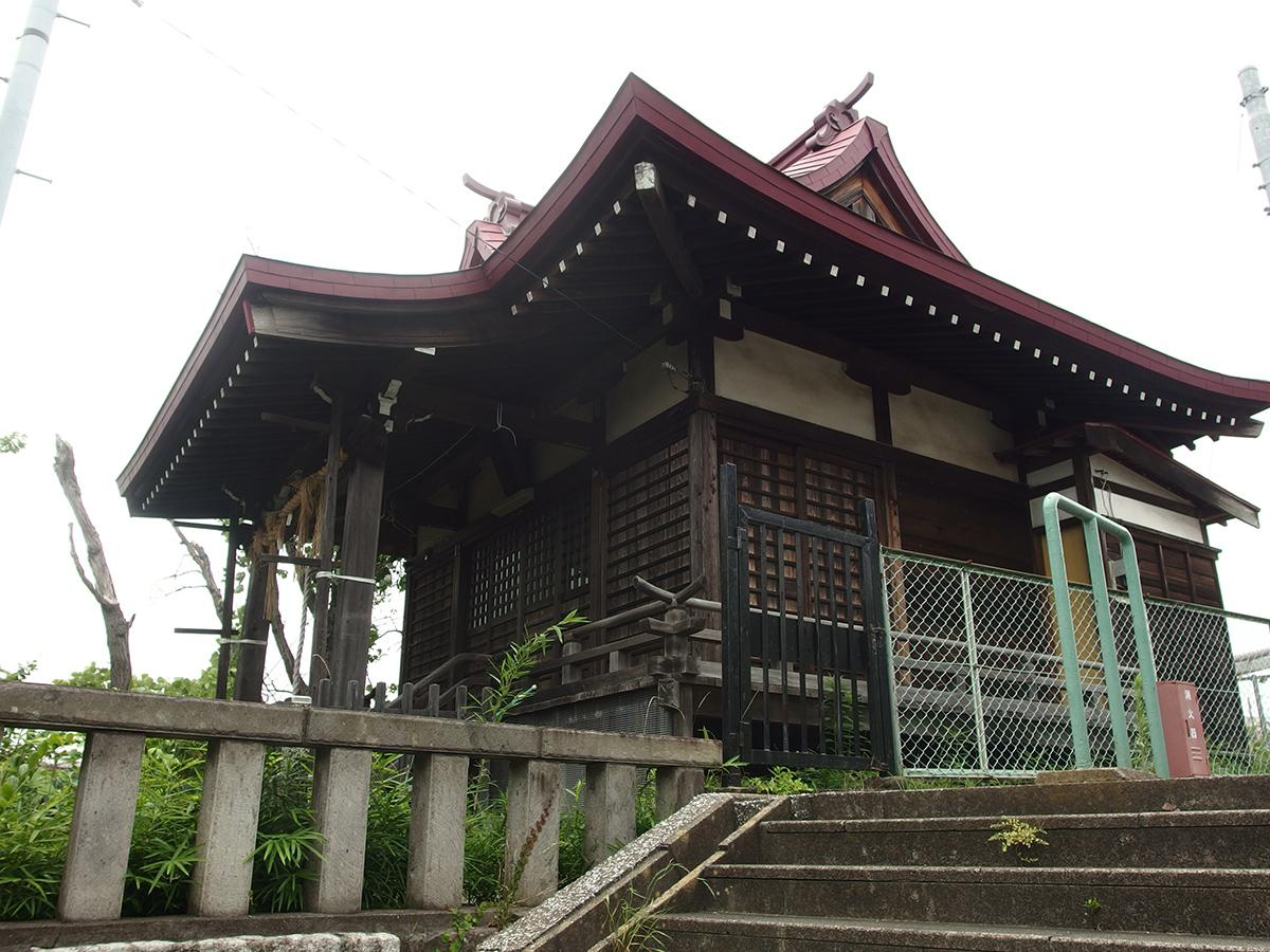 中里熊野神社(横浜市南区中里)