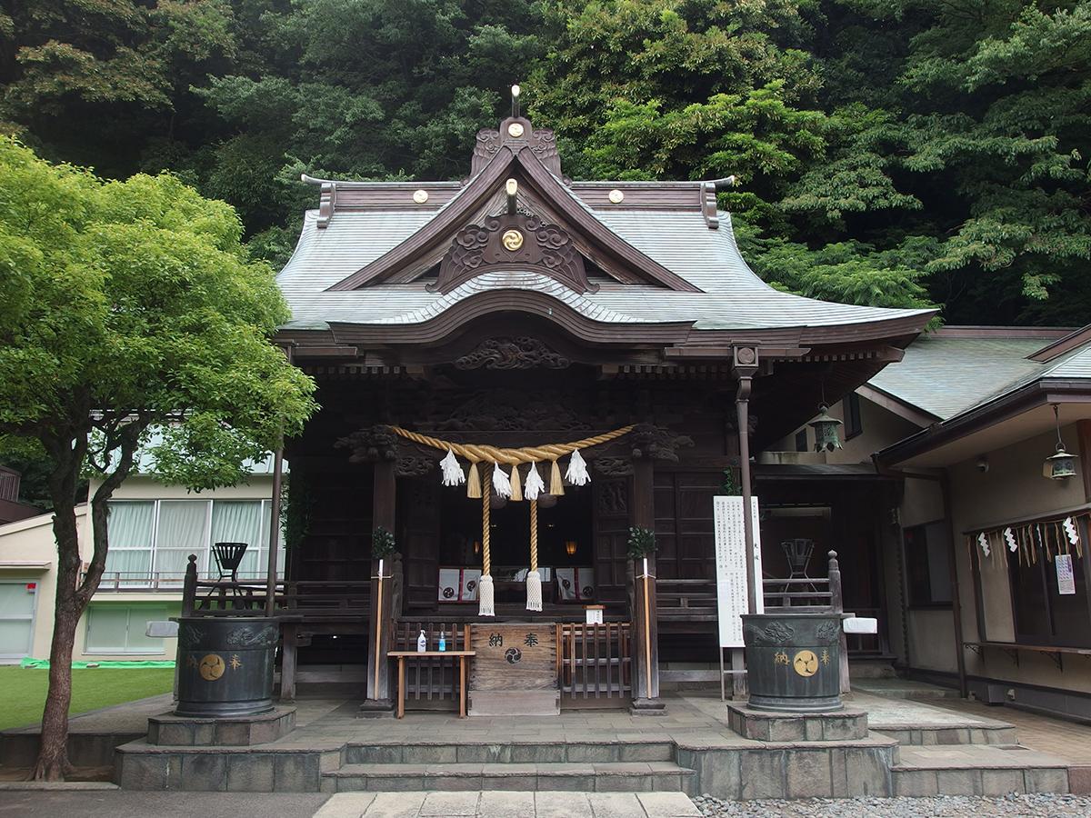 根岸八幡神社(神奈川県横浜市磯子区)