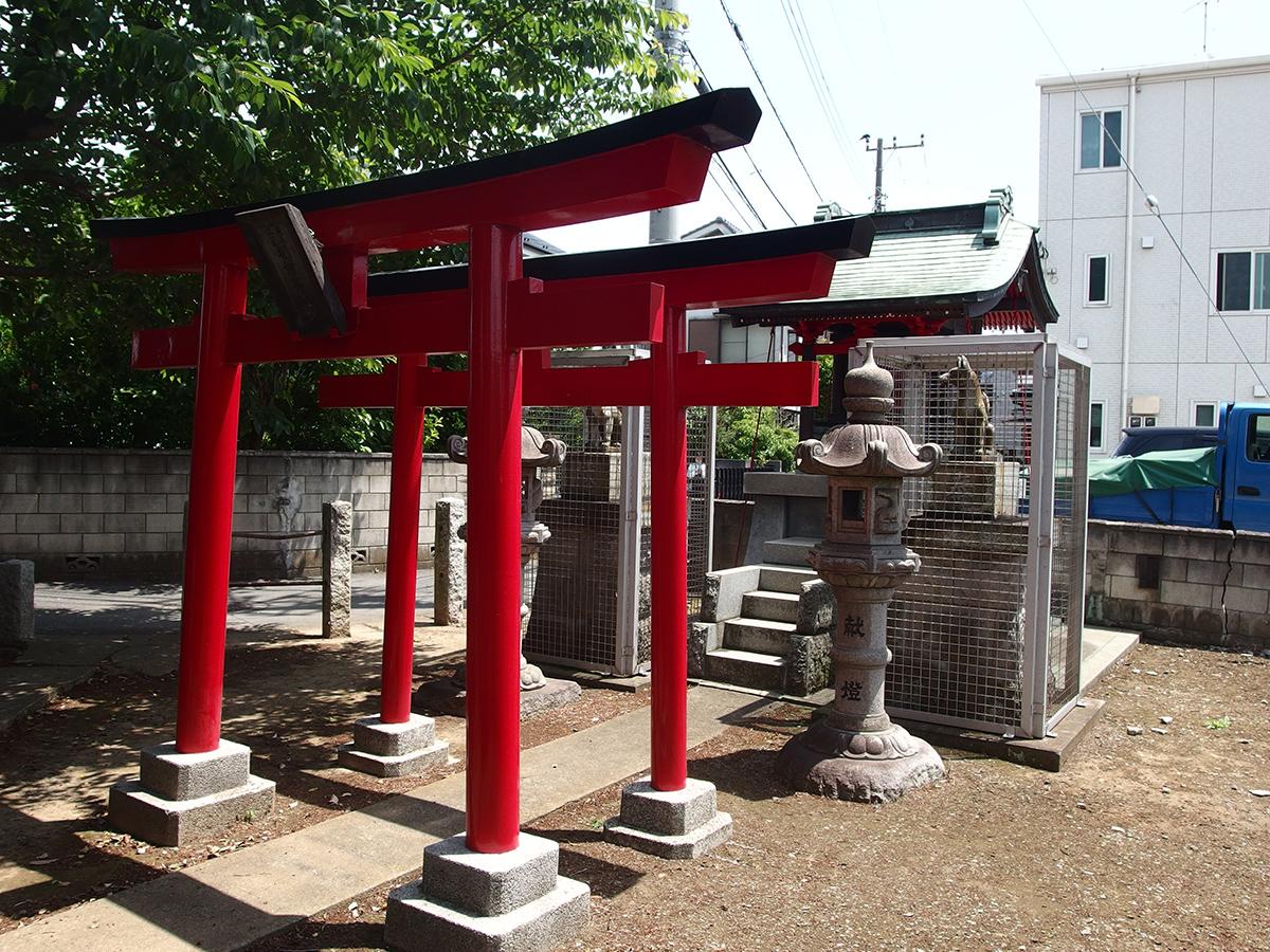 坂戸東森稲荷神社