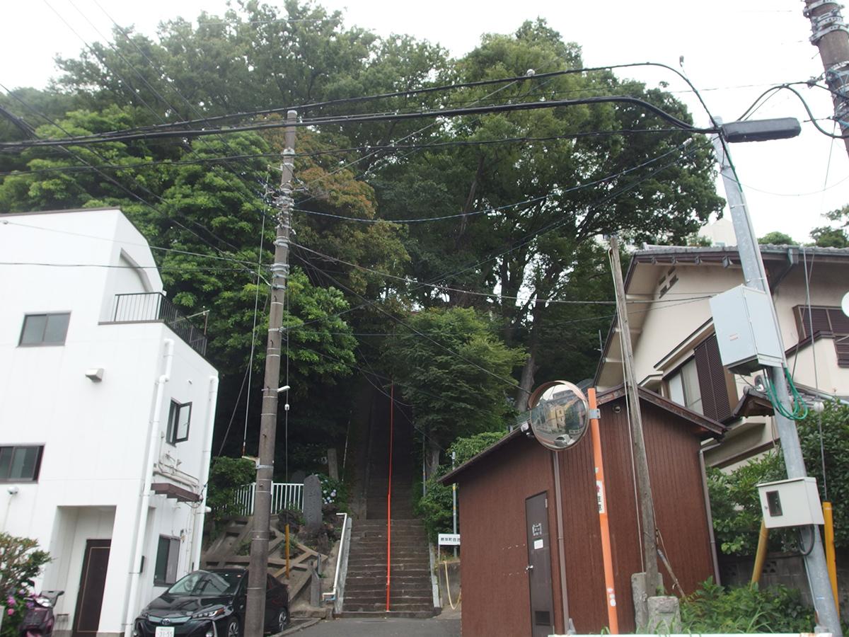 白滝不動尊(横浜市中区根岸町)