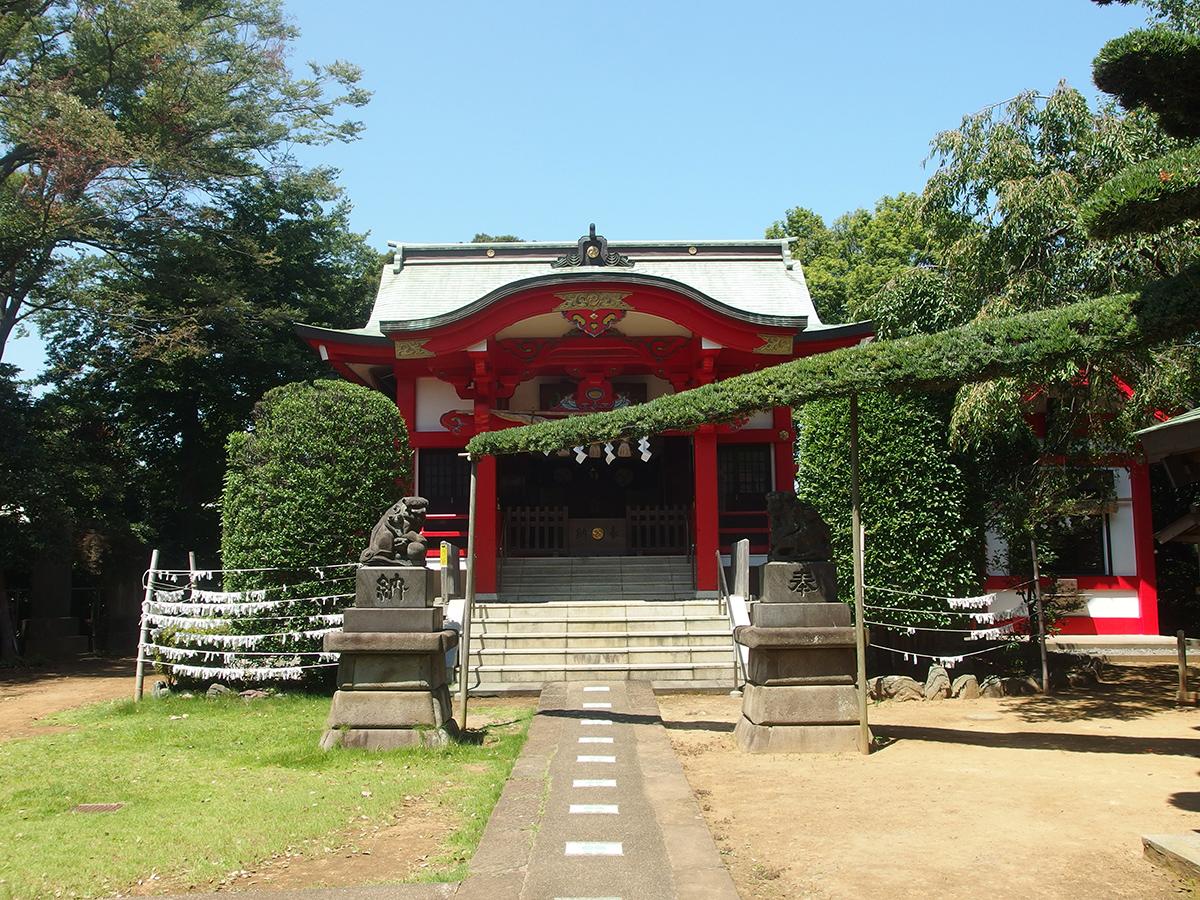 森浅間神社(横浜市磯子区森)