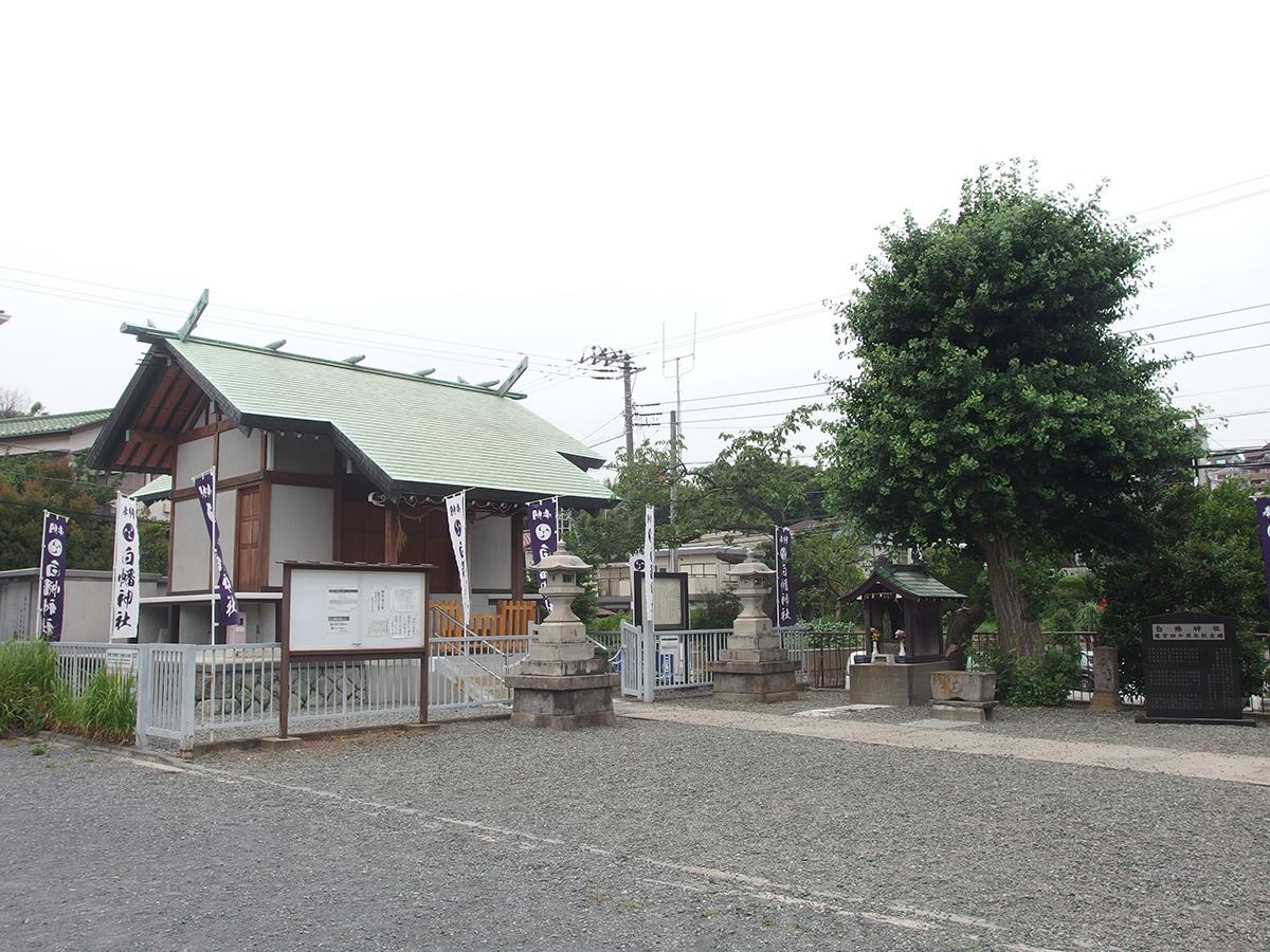永田白幡神社(横浜市南区永田南)