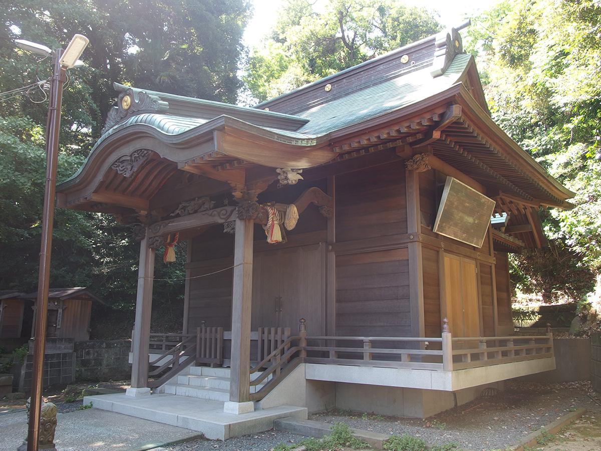 中原熊野神社(横浜市磯子区中原)