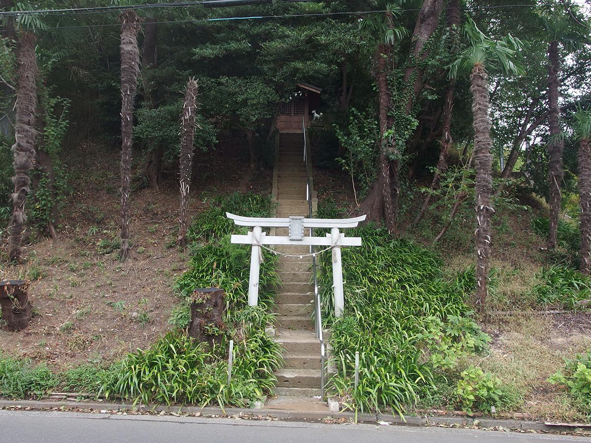 稲荷社(横浜市都筑区折本町)