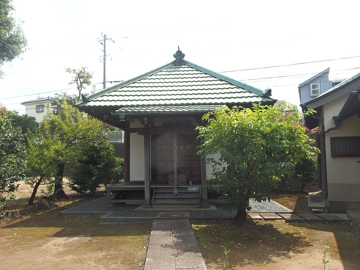 老馬鍛冶山不動堂(横浜市都筑区中川)