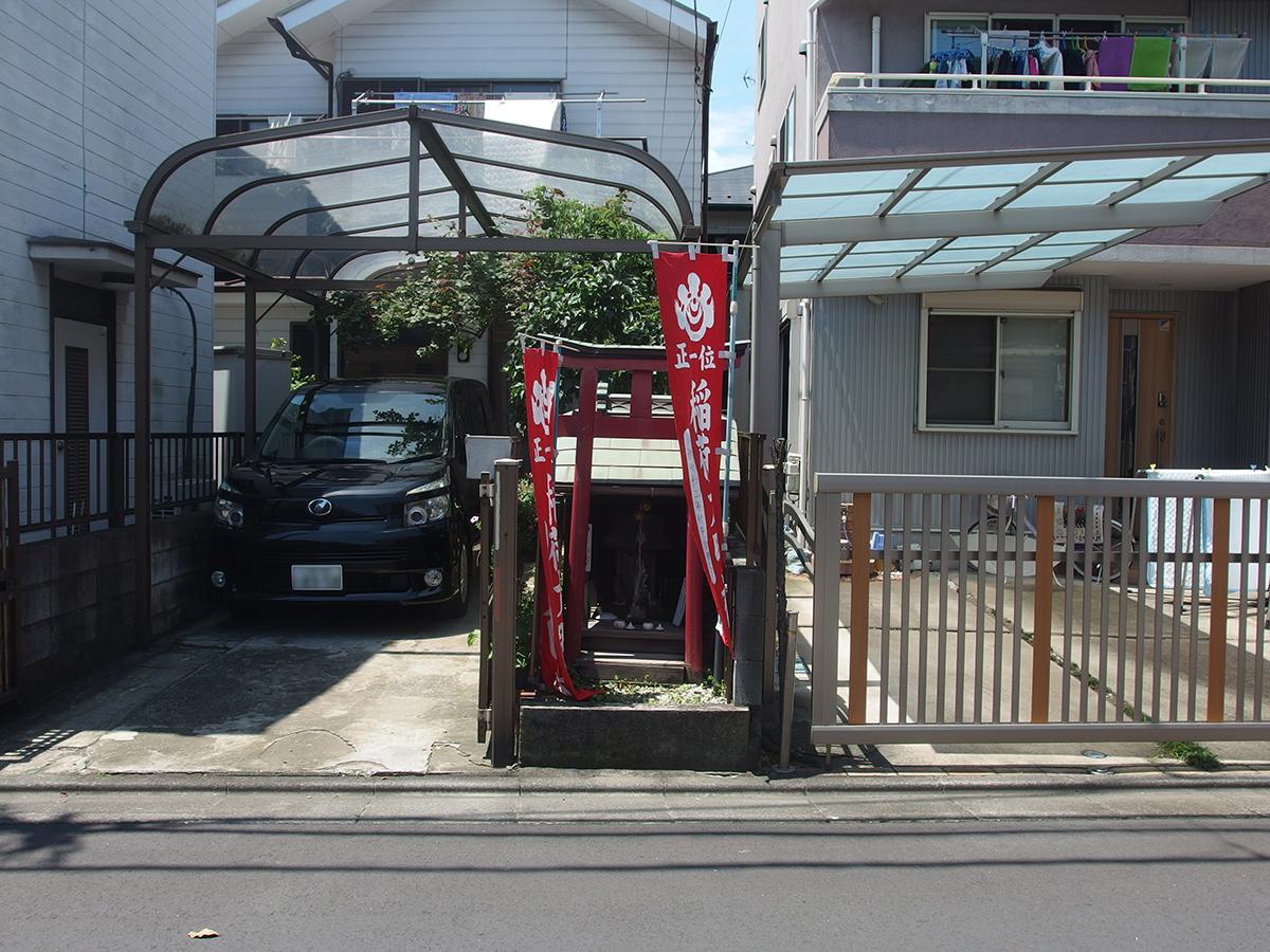 稲荷神社(川崎市川崎区四谷上町)