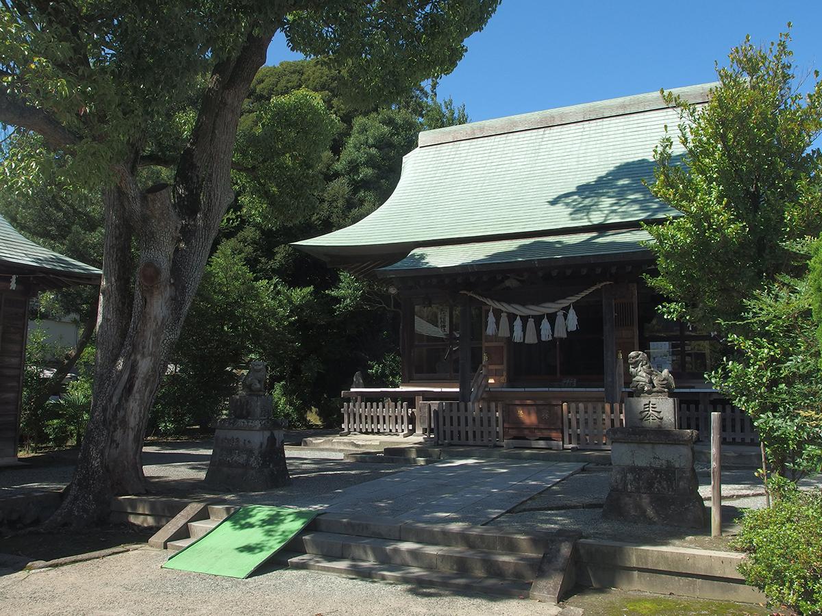 五社稲荷神社(鎌倉市岩瀬)