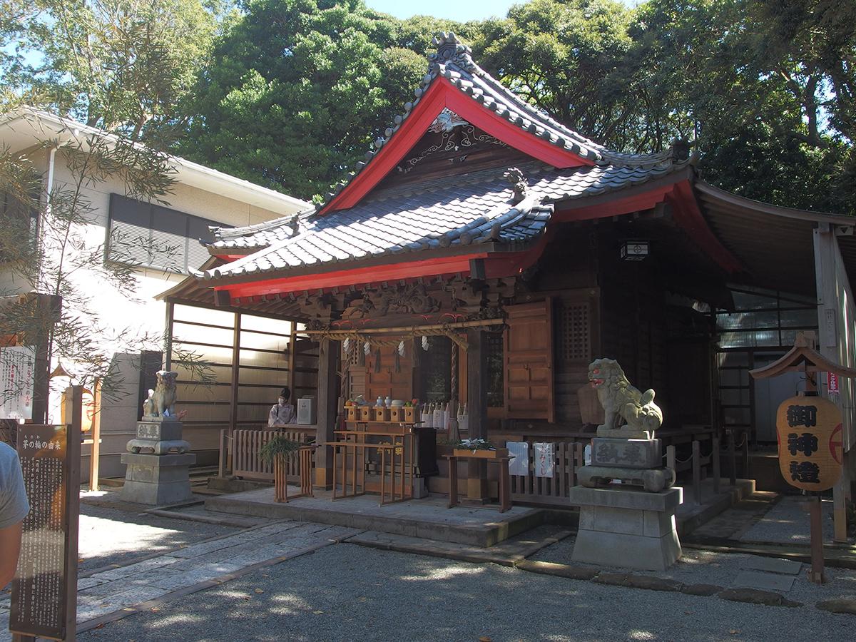 青木神社(横浜市栄区笠間)
