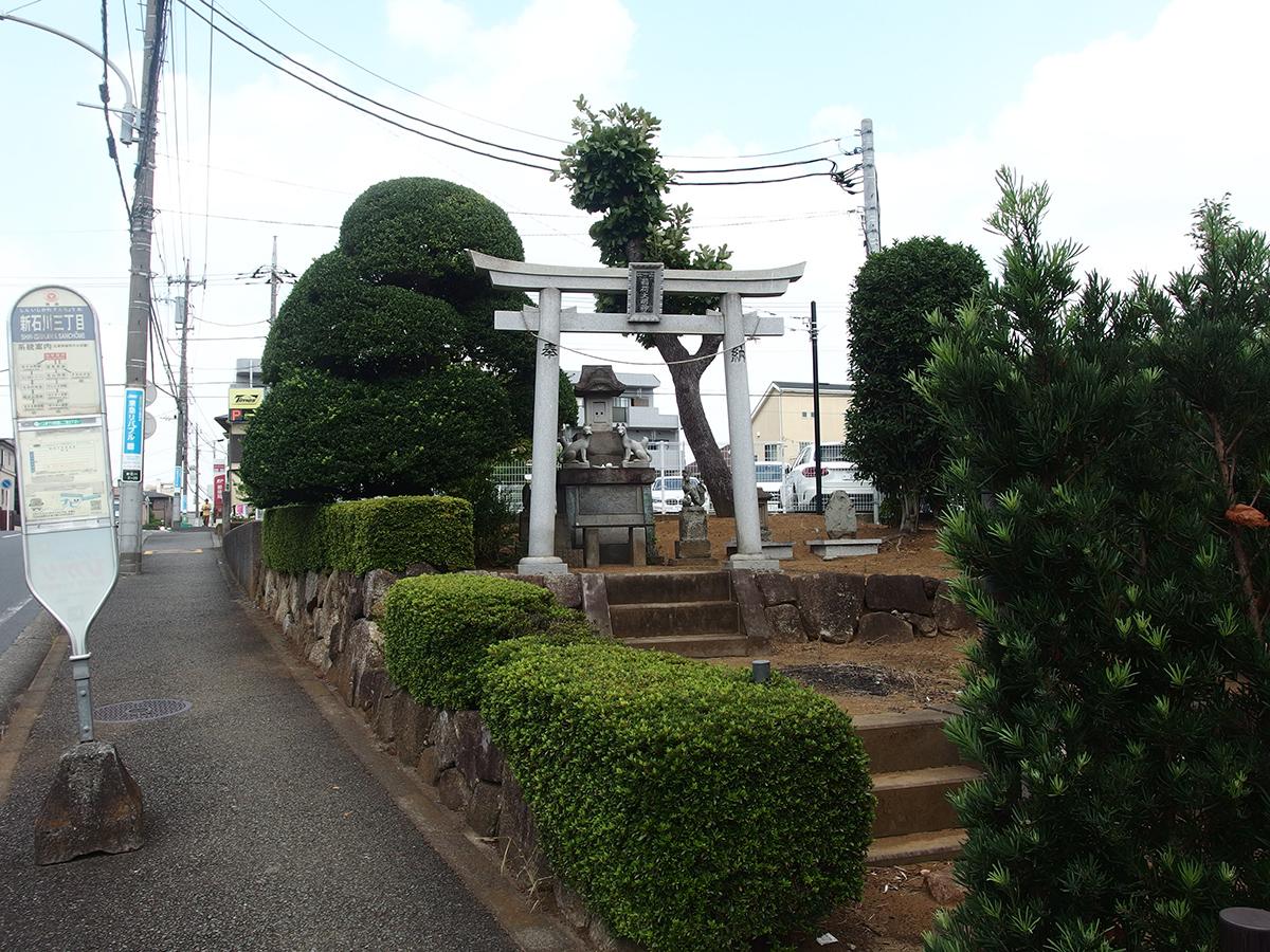 稲荷大明神(横浜市青葉区新石川)