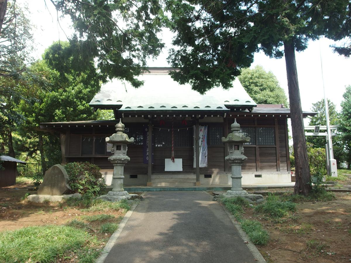 伊勢社(横浜市青葉区新石川)
