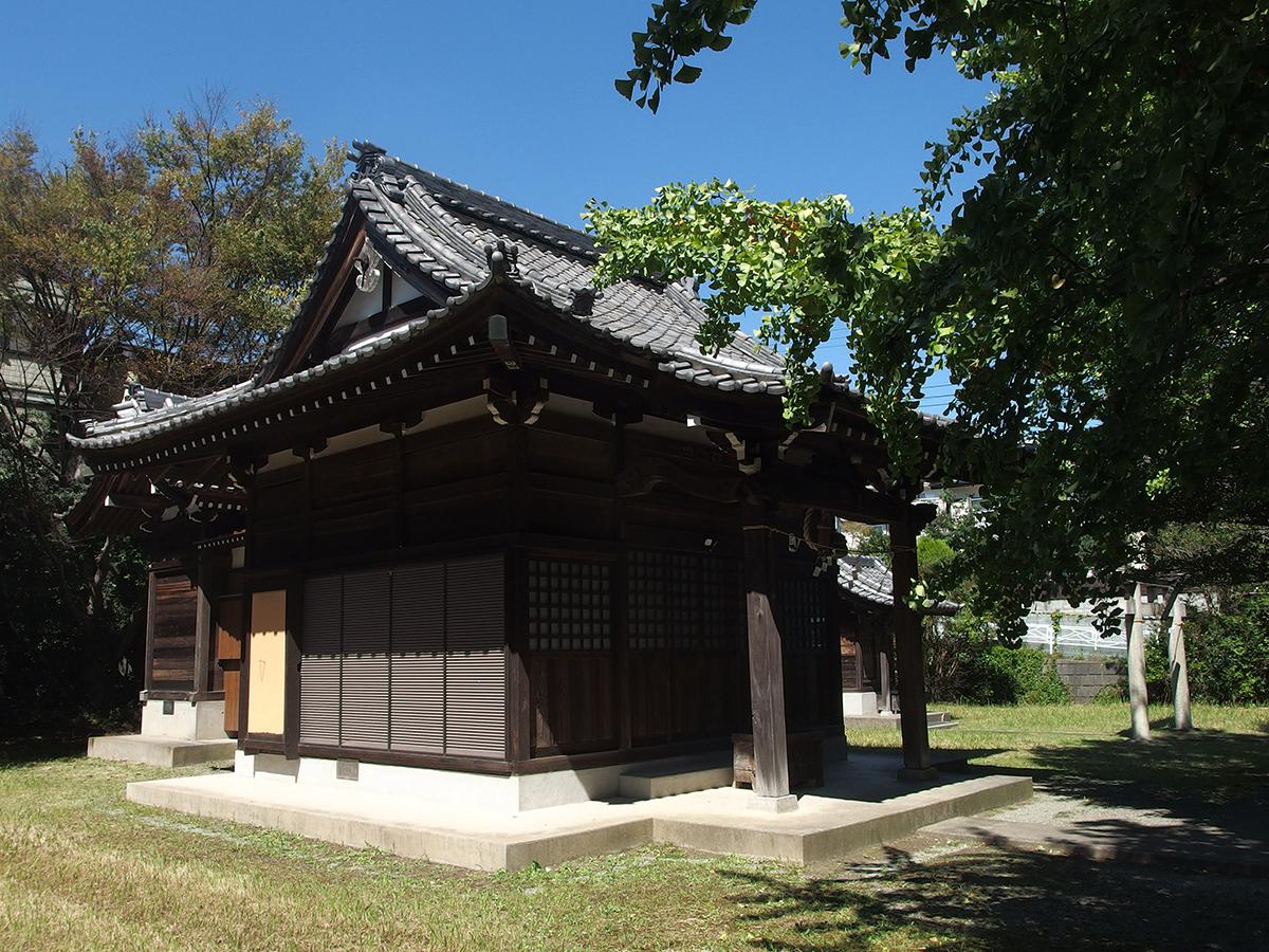 氷取沢神社(横浜市磯子区氷取沢町)