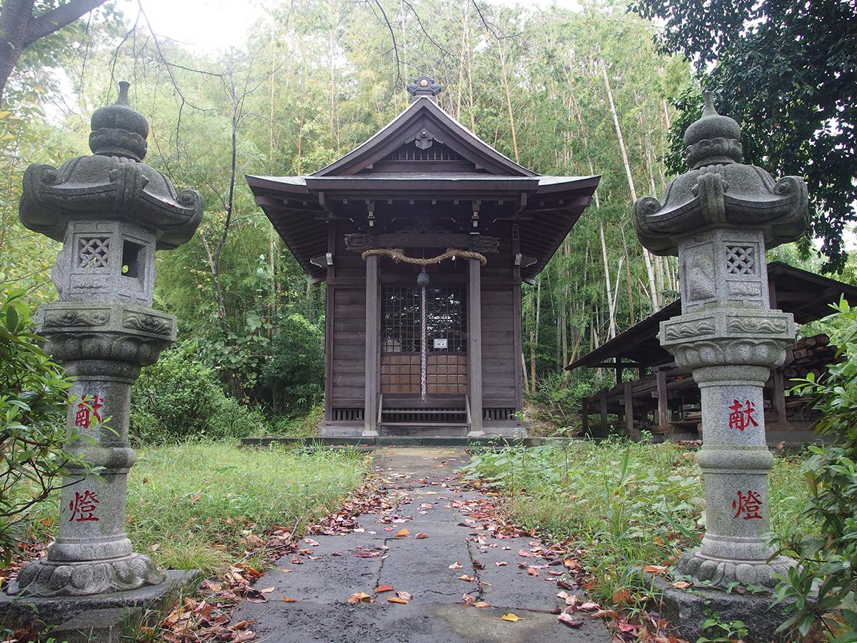 池辺町稲荷大明神(横浜市都筑区池辺町)